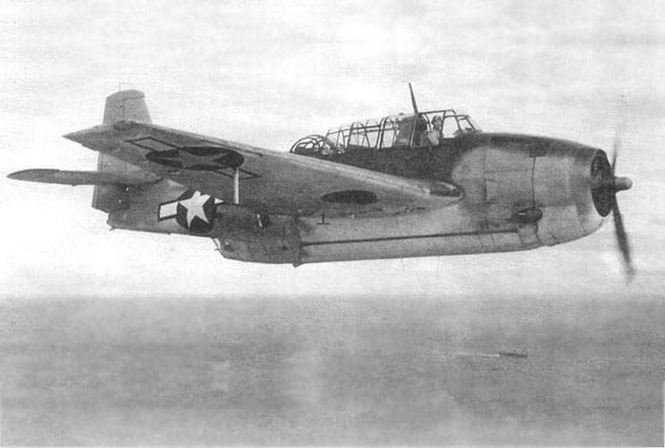 The TBF-1C, first half of 1944