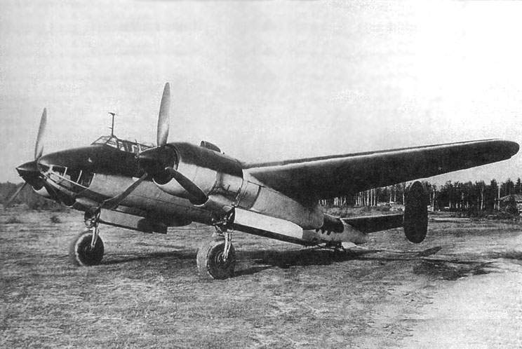 Tu-2S on army test at 1944