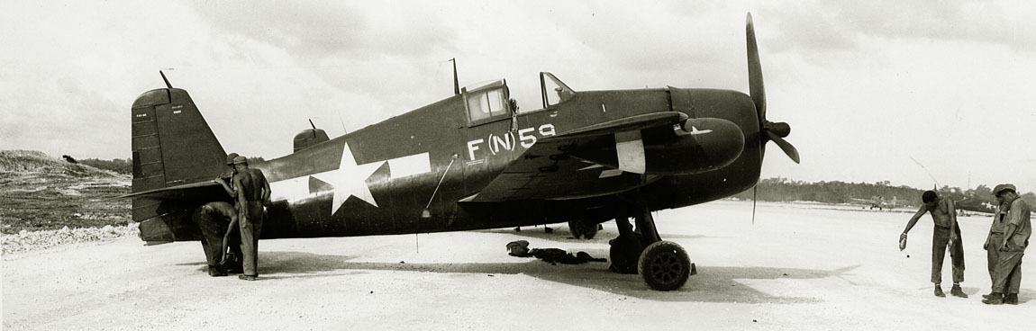 F6F-5 Hellcat with night radar 1944