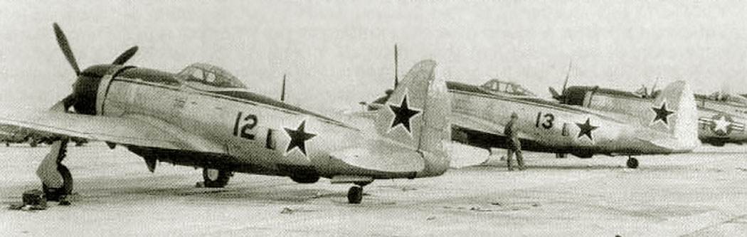 P-47D-27-RE. 255-th IAP, Northern Fleet