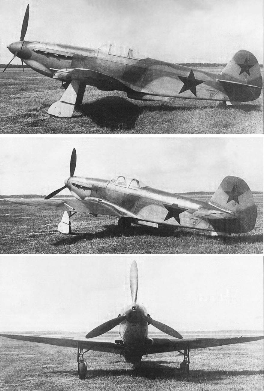 The Yak-1M during State acceptance trials at NII VVS which lasted from 27th June to 4th July 1943