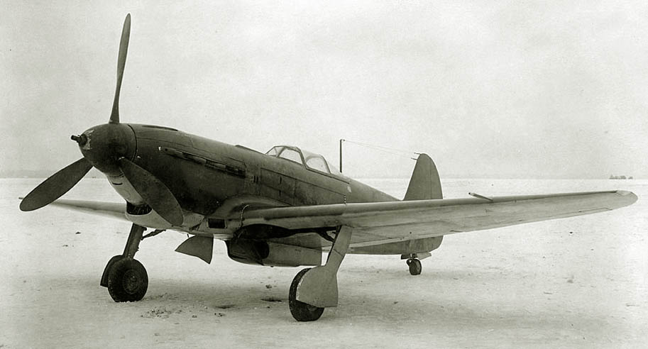 The first Yak-9T during official state evaluations in February 1943