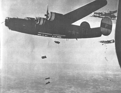 The B-24H-20-CF, 42-50318, from the 446th's 706th Squadron, June 14, 1944.