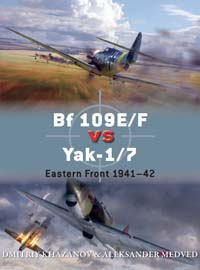 Bf109_vs_Yak. Eastern Front 1941-1942