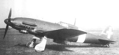 The second C.205N Orione prototype