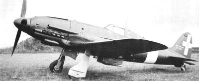 The C.205V (Veltro-Greyhound) prototype