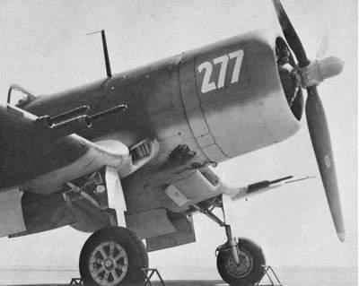 F4U-1C [50277], экспериментальная модификация