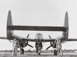 P-61, Black Widow, Northrop, back view