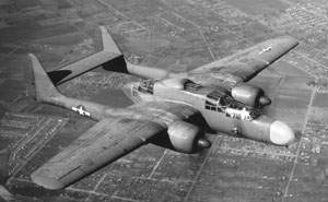 Northrop P-61A-1-NO Black Widow