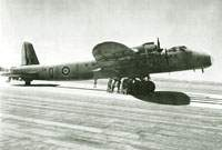 Stirling V PK124 of No.51 Squadron in India soon after the end of the war