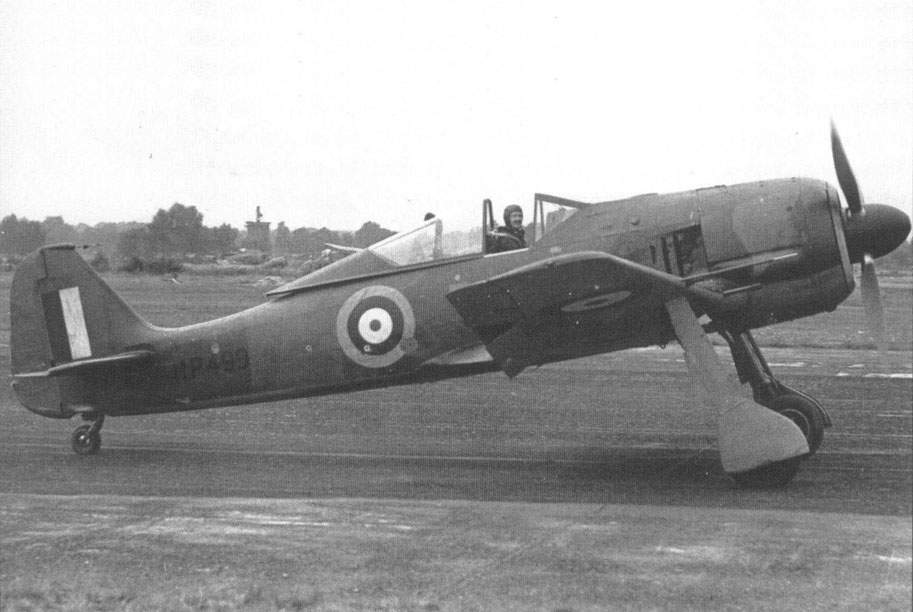 Fw 190A-3 (Werk Nr 0313). Faber's Fw 190A-3 now with British markings.
