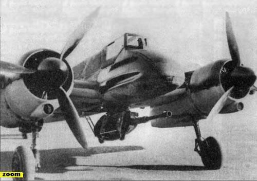 Общий вид самолета Хш-129.