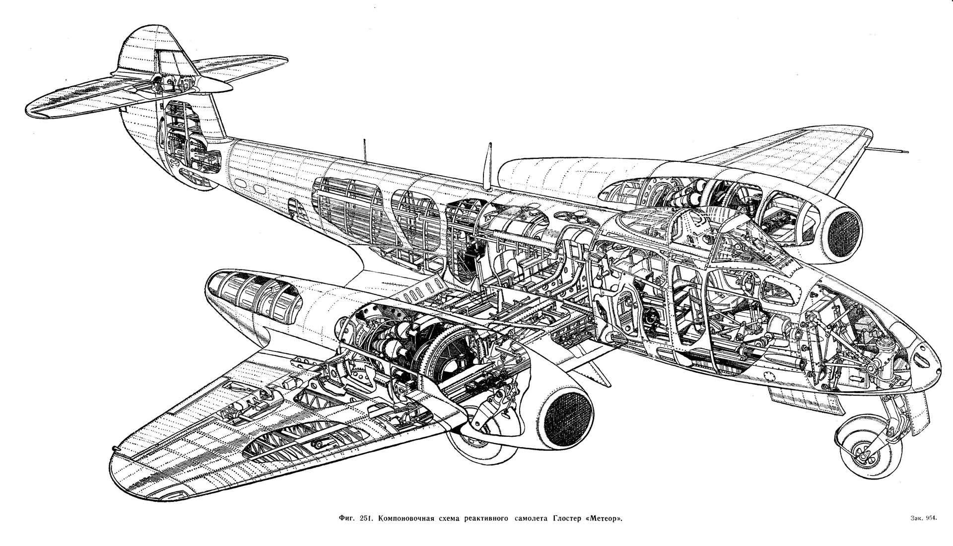 Meteor F.1» фирмы Gloster