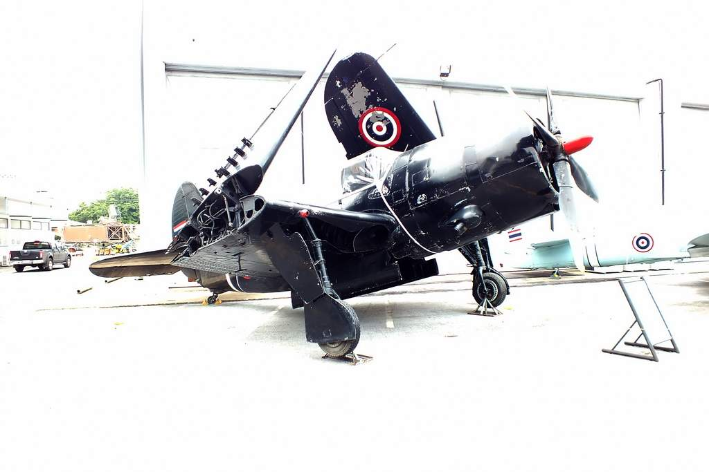 Curtiss SB2C-5 Helldiver. Royal Thai AF Museum.