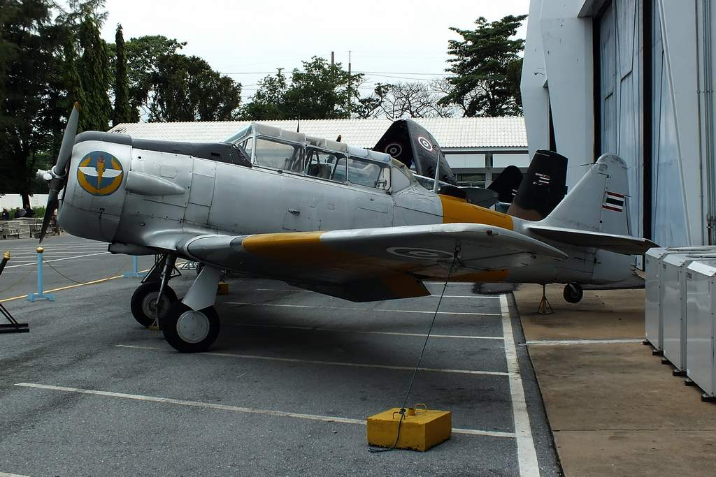 AT-6 Texan. Royal Thai AF Museum.