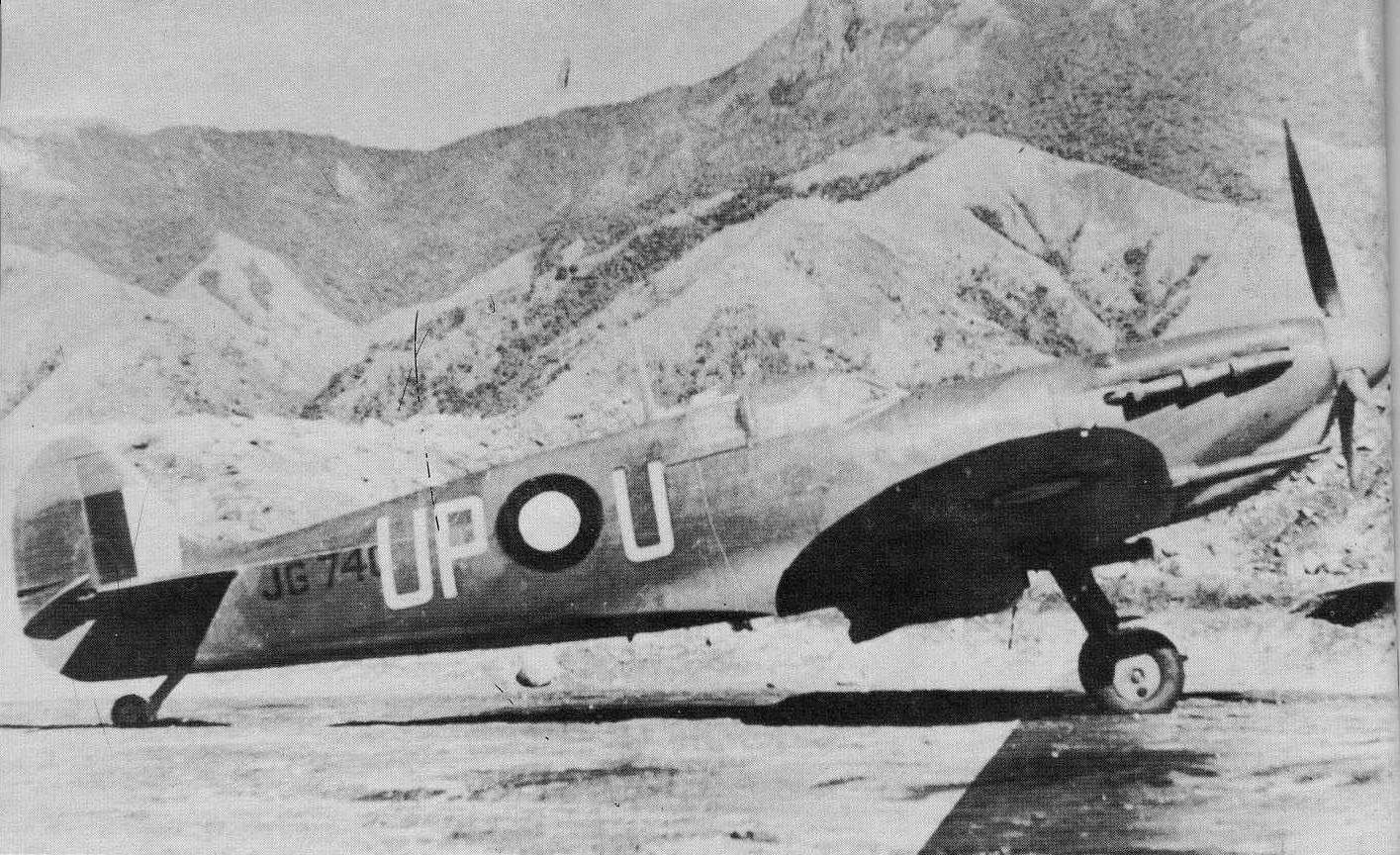 JG740 Later Numbered A58 173 Of Sqn Ldr AC Rawlinson No 79 Squadron At Goodenough Island In 1943 Via Frank Smith