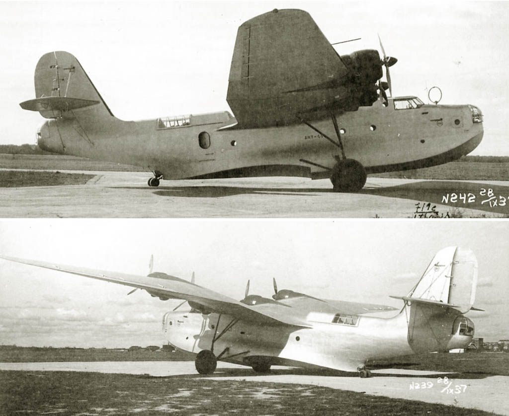 The first experimental ANT-44 September 28, 1937
