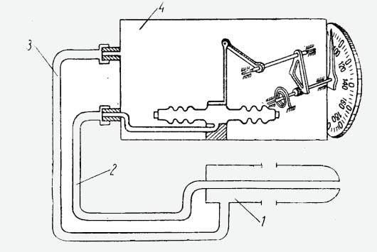 Авиационный указатель скорости схема электрическая.