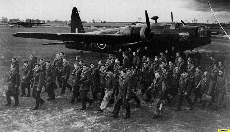 Wellingtons of No 75 Squadron