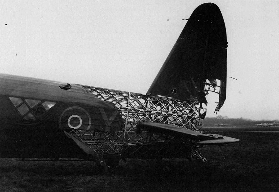 Wellington HE239/NA:Y, of No 428 Squadron at West Mailing on 9 April 1943