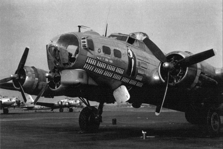 Boeing B-17G-65-BO, serial number (43-37509)