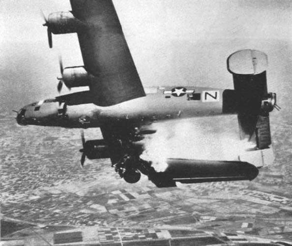 B-24L Stevonovitch II (AAF Ser. No. 44-49710) near Lugo, Italy, 10 April 1945