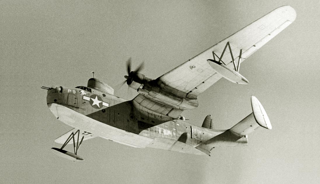 Martin PBM-3 Mariner in flight