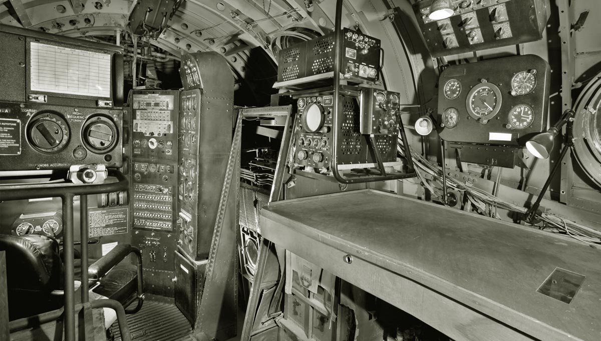 Martin PBM-5A Mariner. Radio navigation equipment